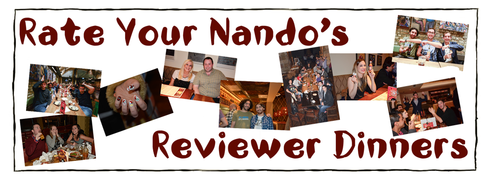 Rate Your Nando's Reviewer Dinners