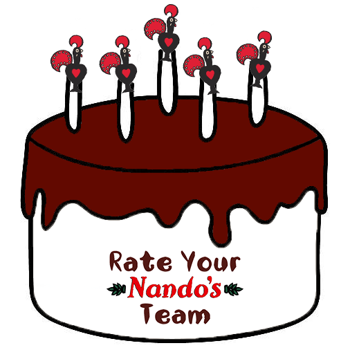 Nandos Birthday Cake